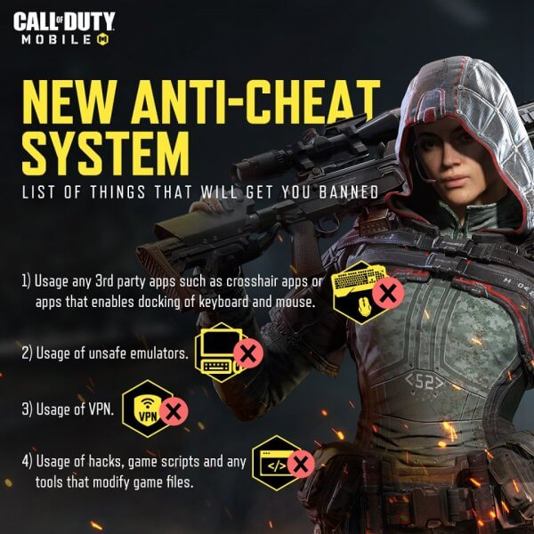 Call of Duty Mobile Gets A New Anti-Cheat System