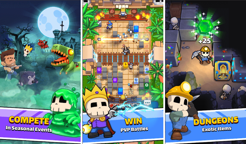 Halfbrick Studios Came Up With New Title Called Magic Brick Wars: Available For Both Android And iOS