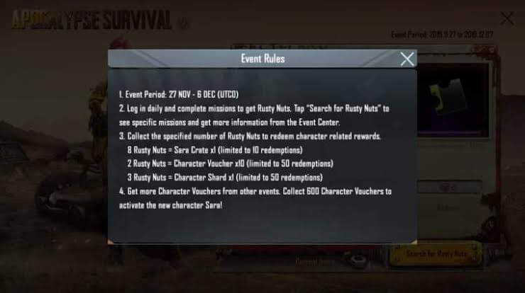 Everything About PUBG Mobile Apocalypse Survival Event