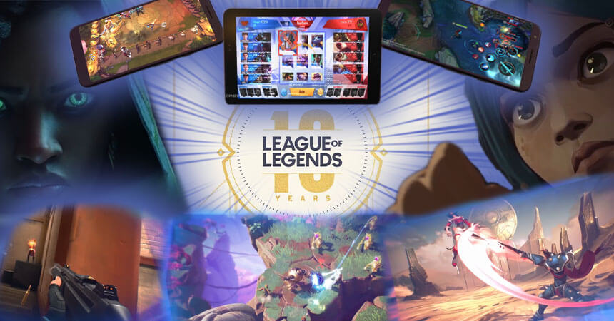Release Date Of Every Upcoming League Of Legends Mobile Game Mobile Mode Gaming
