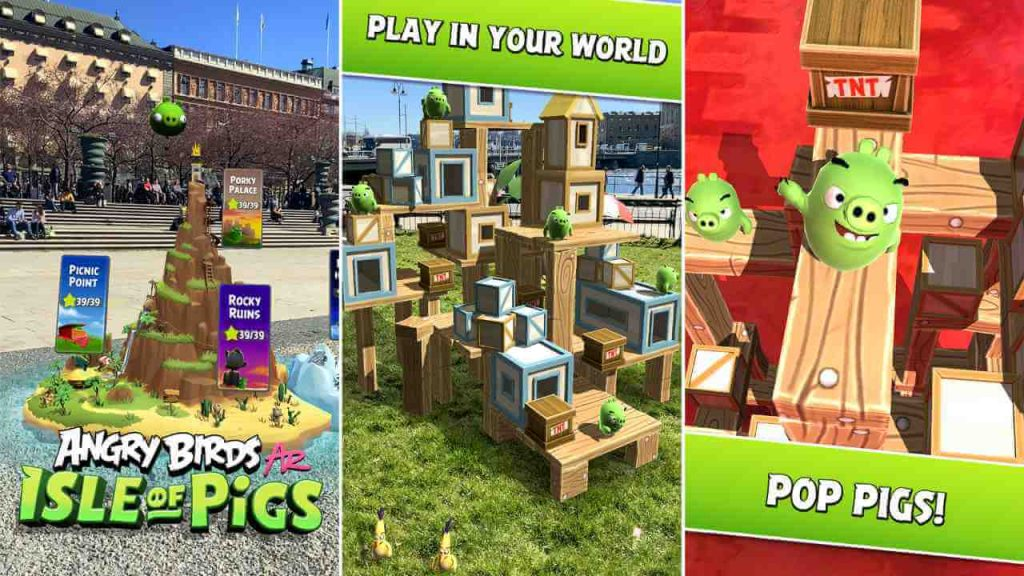 Angry Birds AR: Isle of Pigs Game Review