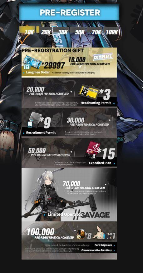 Pre-Registration For 'Arknights' Has Officially Begun