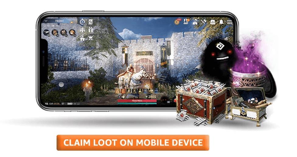 Black Desert Mobile Collaboration Event With Amazon Prime Complete Details