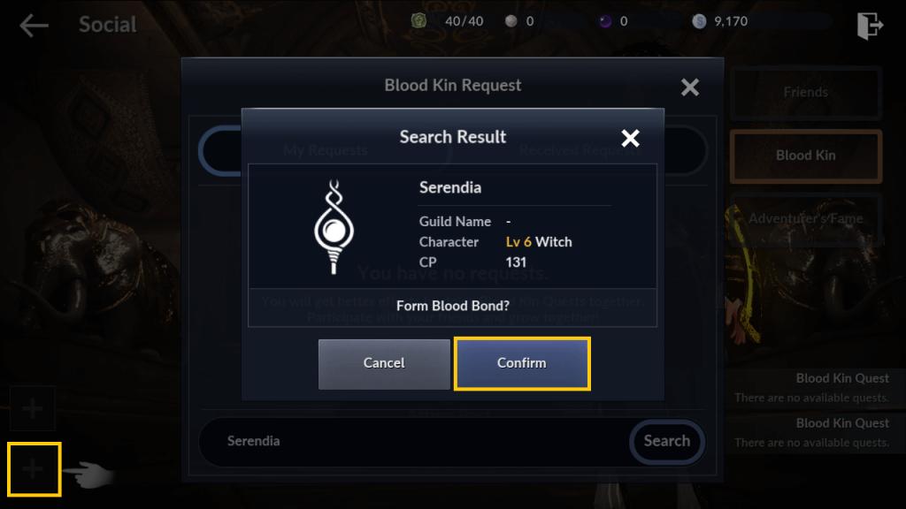 Black Desert Mobile Guide - Blood Kin