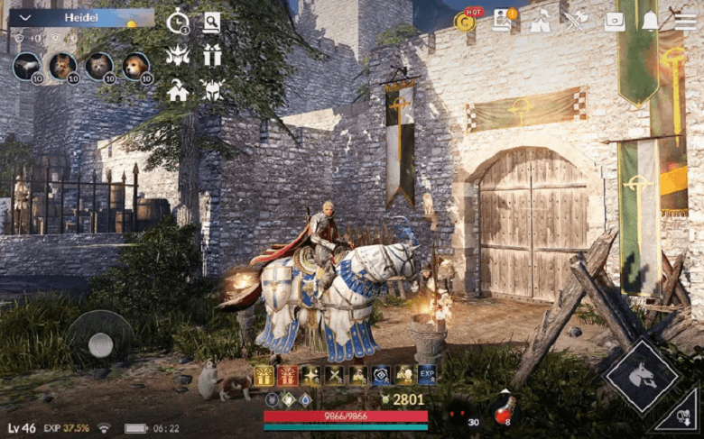 Black Desert Mobile Has Been Globally Released - Servers Are Open Now!