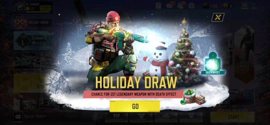 Everything About Call of Duty Mobile 'Holiday Draw'