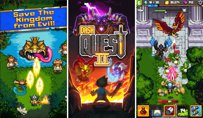 Dash Quest 2 Game Review