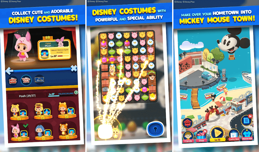 Disney POP TOWN Game Review