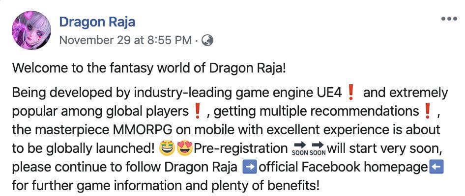 Tencent Confirmed The English Version Of Cyberpunk MMORPG 'Dragon Raja'