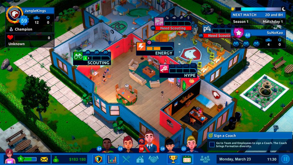 Manage Your Esports Team In 'Esports Life Tycoon'