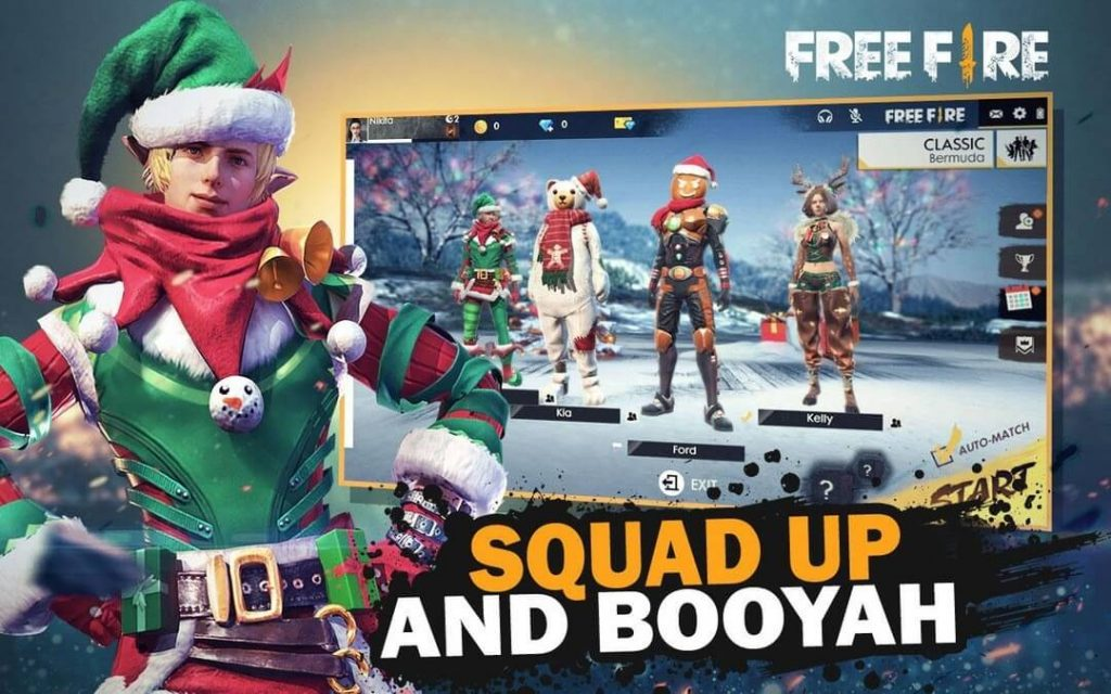 Garena Free Fire Winterlands Christmas & New Year Event Details