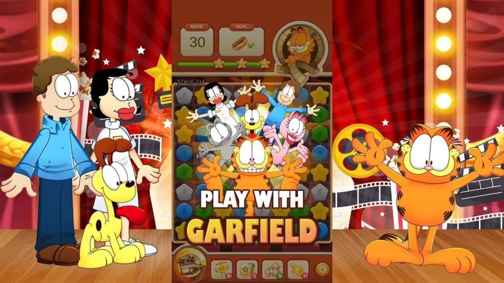 Garfield Puzzle M Game Review