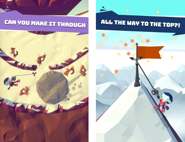 Hang Line: Mountain Climber Has Been Released For iOS And Android
