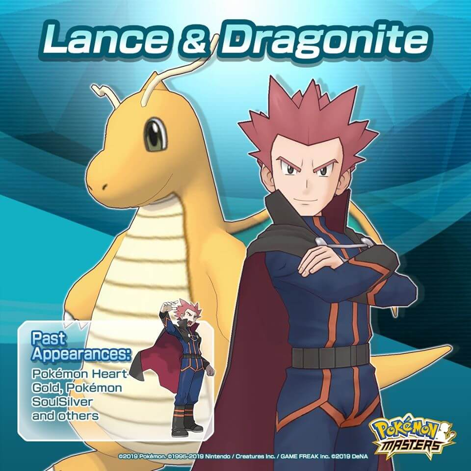 Pokemon Masters Gets Updated With Lance And Dragonite Ahead Of Upcoming Solgaleo Event