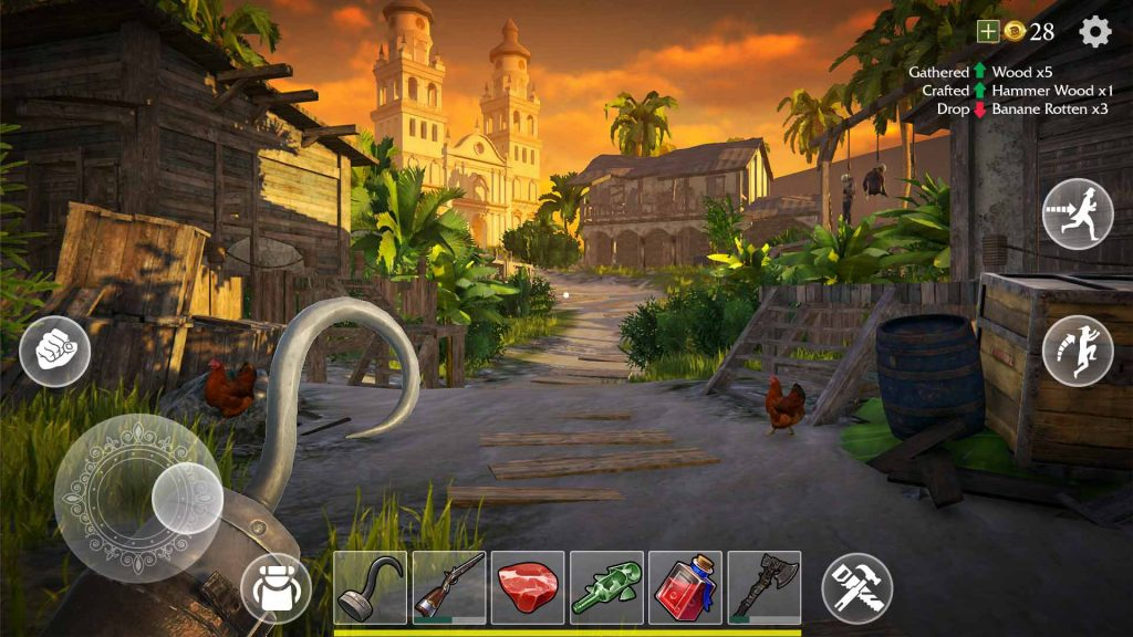 Last Pirate: Survival Island Is A First-Person Survival Available For Android And iOS
