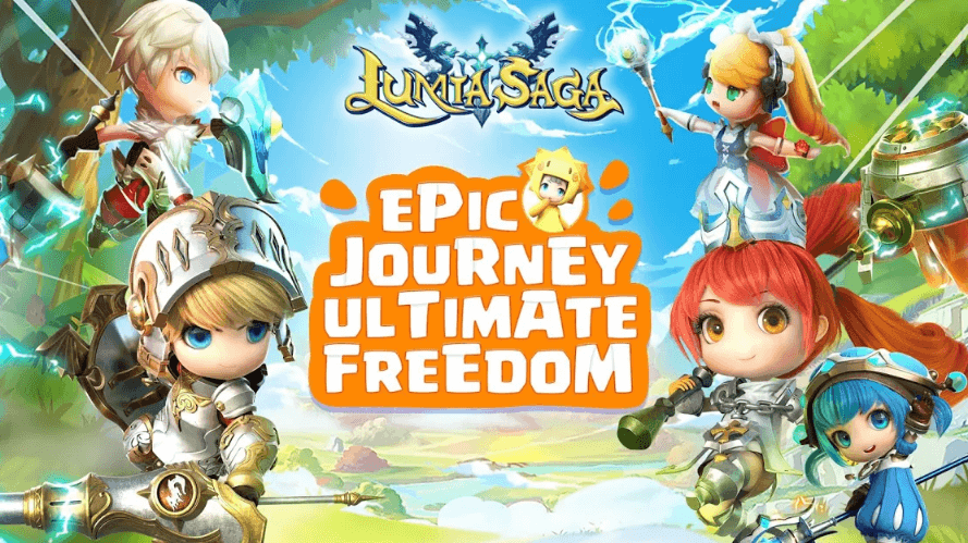 """""""Lumia Saga"""" by Century Game Review - Cutest Mobile MMORPG"""