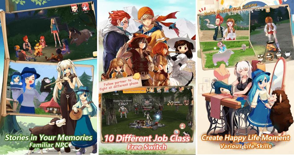 Siamgame Has Released Open Beta Of 'Mabinogi-Fantasy Life'