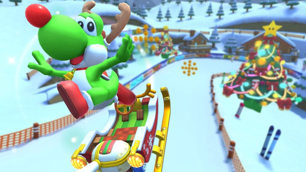 Mario Kart Tour Gets Holiday Tour To Celebrate Christmas And New Year