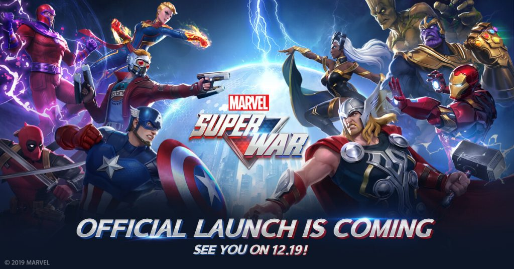 Marvel Super War Will Globally Release In December 2019