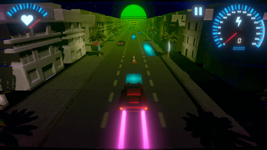 OverDrive Is A High Powered Rhythm-Based Driving Experience For Android & iOS