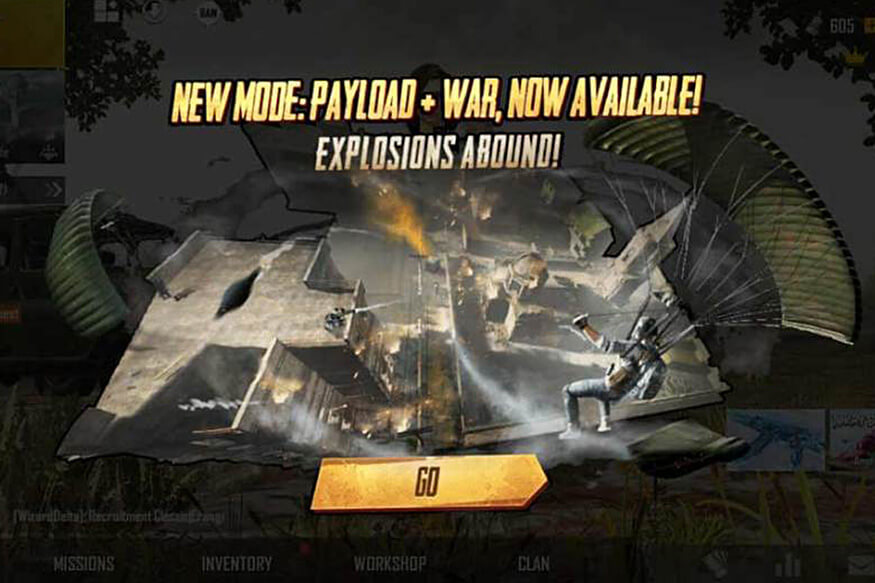 PUBG Mobile Introduced New EvoGround Mode: Mix of Payload and War Mode