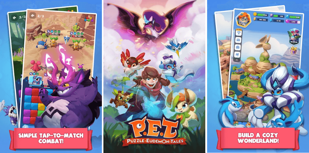 Puzzle Eudemon Tales By IGG Is Available For Pre-Registration