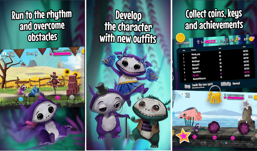 Mousetrap Games Brings 'Run The Beat' A Rhythm-Based Platformer For Android And iOS