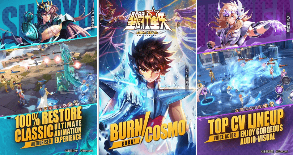 Saint Seiya: Awakening To Get A New PvP Mode This Christmas