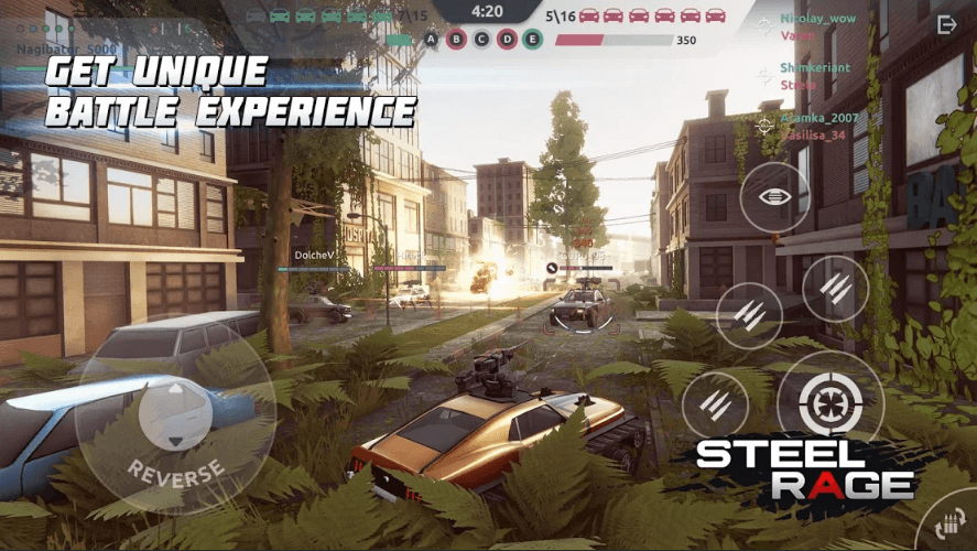 Steel Rage: Robot Cars PvP Shooter Warfare Has Been Released For Android Devices