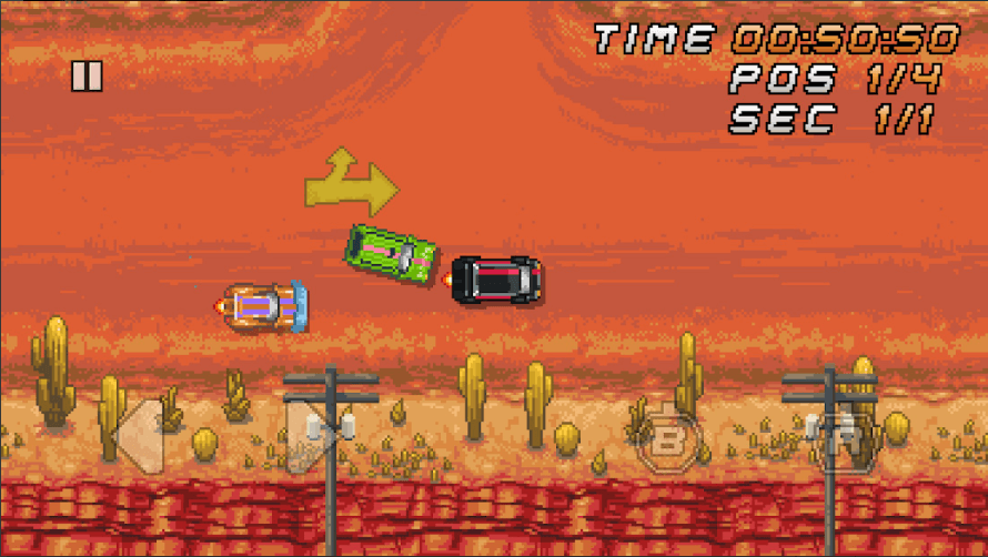 Retro Style 'Super Arcade Racing' Is Now Available For Android & iOS