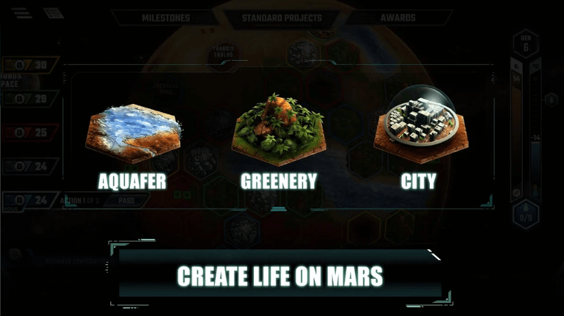 'Terraforming Mars' Now Available For Android And iOS Devices