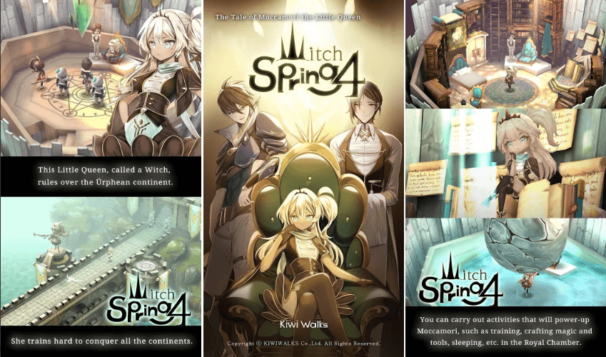 WitchSpring4 Is Releasing For Mobile On December 19: Pre-Register Now