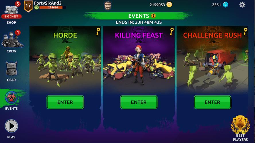 Zombie Blast Crew Game Review
