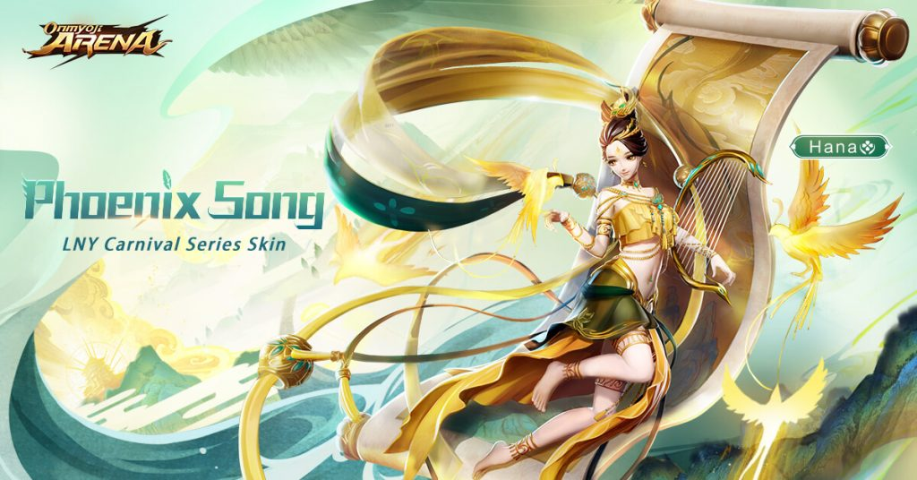 Onmyoji Arena is Entering the Season 8 with Lunar New Year Celebrations