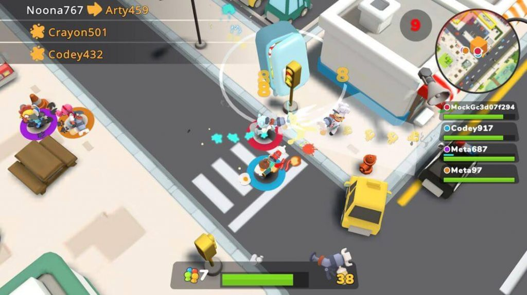Butter Royale Is A Family Friendly Battle Royale Based On Food-Fight