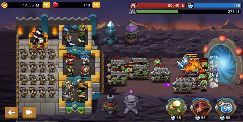 Castle Defense King Is Strategy Game Available For Mobile Devices