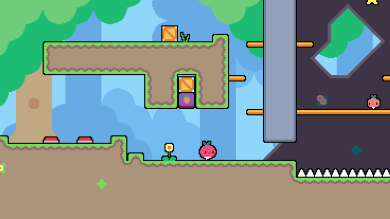 Dadish Is An Upcoming Game Based On Saving Radish Children