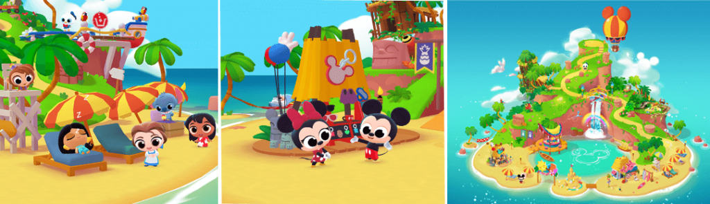 Disney Getaway Blast Puzzle Game Is Available For Pre-Registration