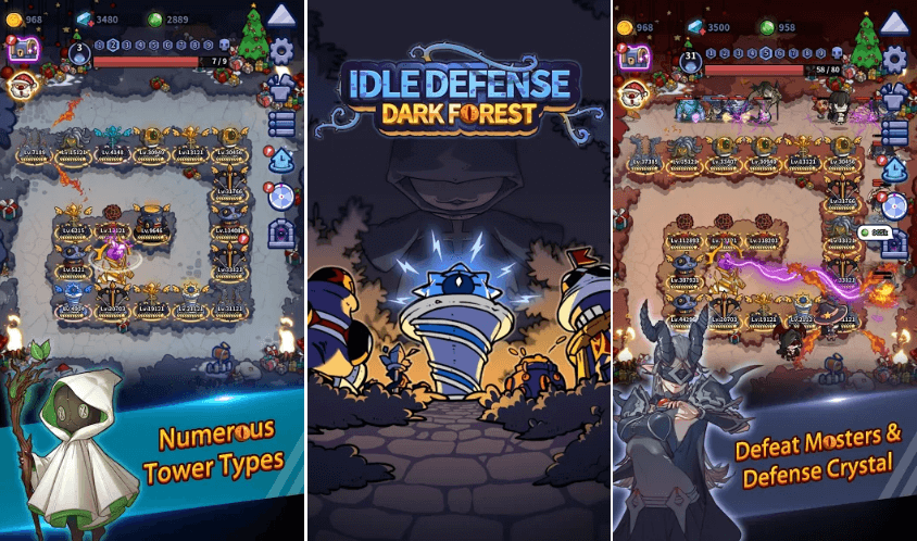 Idle Defense: Dark Forest Has Been Released For iOS Following Android Release
