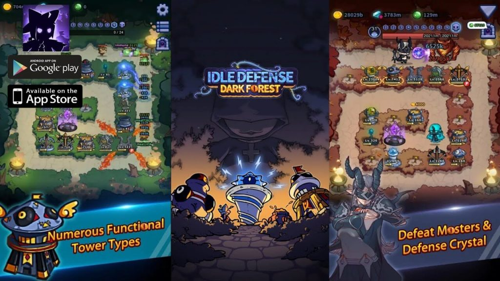 Idle Defense: Dark Forest Is Now Available To Pre-Order On App Store