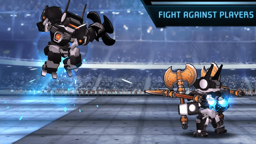 Megabot Battle Arena Is An Upcoming Robot Building And Fighting Game For Android