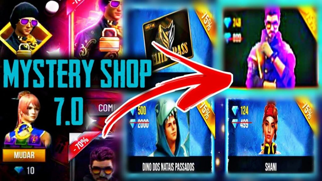 Free Fire Mystery Shop 7.0 Is Now Live In The Game