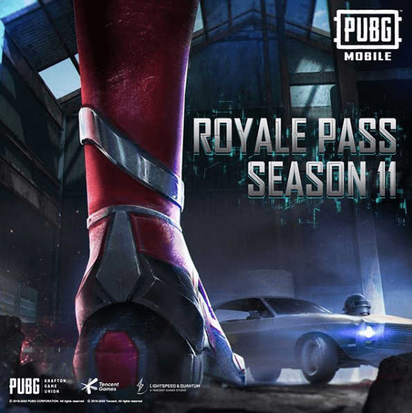 PUBG Mobile Season 11 Is Releasing On 10th January
