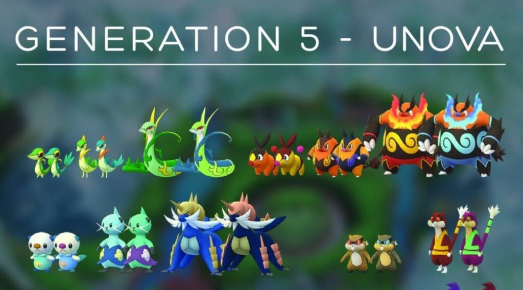 Niantic Has Updated Its January Event Plan In Pokemon Go Which Includes A New Unova Pokemon