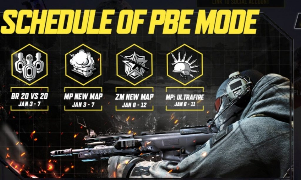 Download and Play Call of Duty Mobile January Test Server