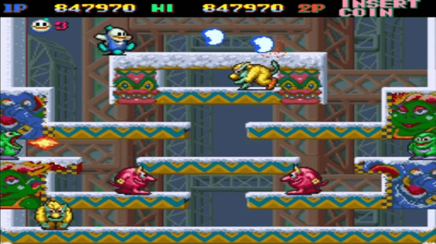 SNOW BROS Classic By Mobirix Is Available To Download On Android & iOS