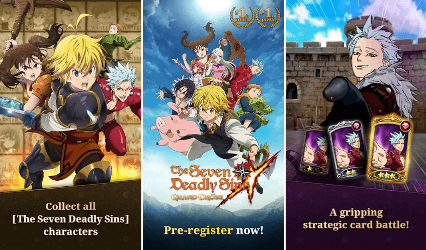 The Seven Deadly Sins: Grand Cross Is Netmarble's Upcoming RPG For Android & iOS