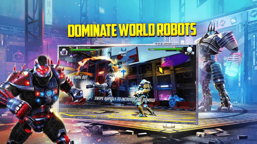 World Robot Boxing 2 With Futuristic Gameplay Has Been Release For Android & iOS