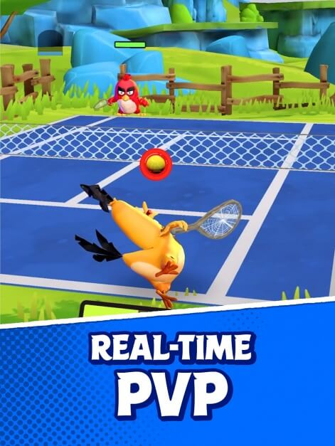 A Brand New Angry Birds Tennis Game Has Been Secretly Soft-Launched