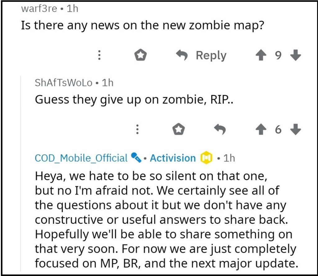 Activision has Given Up on Call of Duty Mobile Zombie Mode!
